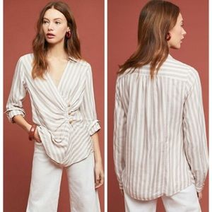 | Anthropologie | Maeve Marianna Wrap Top